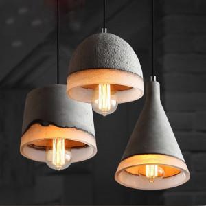 Как сделать подвесной светильник из бетона