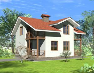 Дома из пеноблоков - строительство под