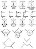 Рис. 3. Схемы показывающие влияние эркеров разной формы на интерьер комнаты.