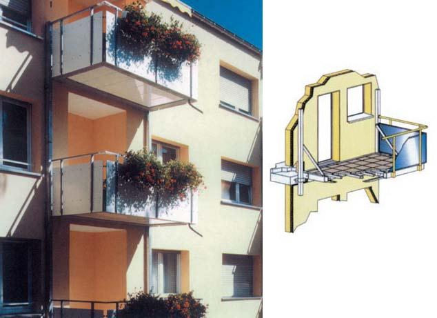 Как можно сделать балкон на втором этаже.