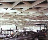 Ячеистый подвесной потолок (OWA)