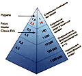 Диаграмма классификации стерильных помещений (ISOVER)