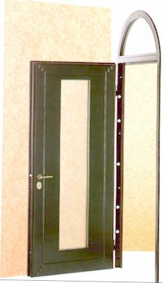 защитные двери стальные