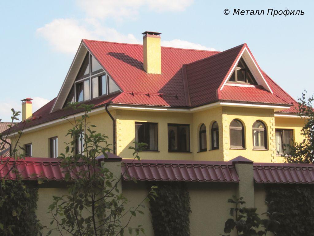 Цвет железа на крышу какие цвета есть