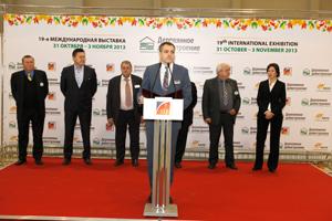 В Москве открылась 19-я Международная выставка «Деревянное домостроение / Holzhaus»