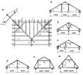 8 мар 2012 Строительство четырехскатной крыши с использованием вальмовой стропильной системы и её конструкция.