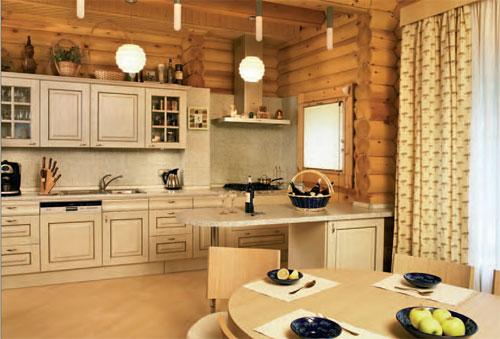 Потолки в деревянных домах дизайн фото